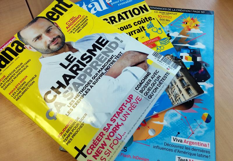 Eh non, ce n'est pas vraiment de ce genre de magazine-là dont je parle. La plupart des personnes pensent tout de suite à magazine papier avec les pages qu'il faut tourner !